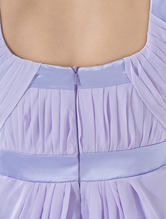 f5f68d80535 ... Elegant Sleeveless Empire Waist Satin Chiffon Summer Cocktail Dress-No.8