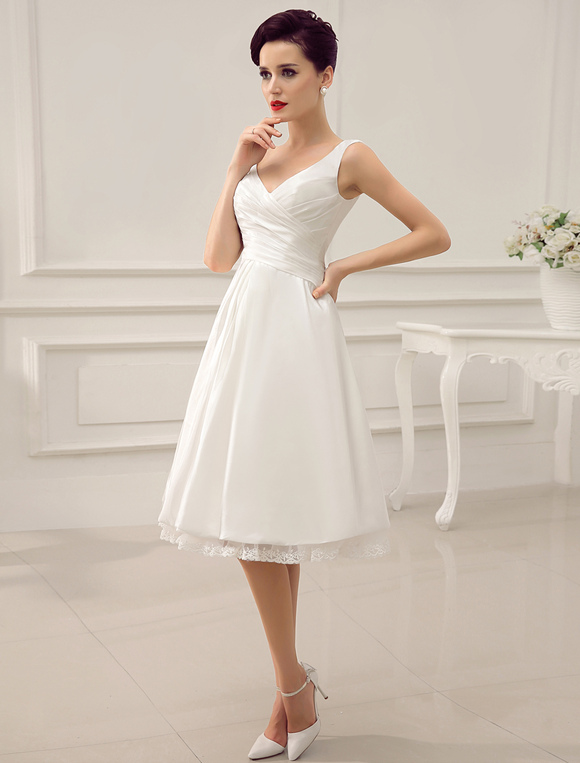 Simple Wedding Dresses Ivory Wedding Dress