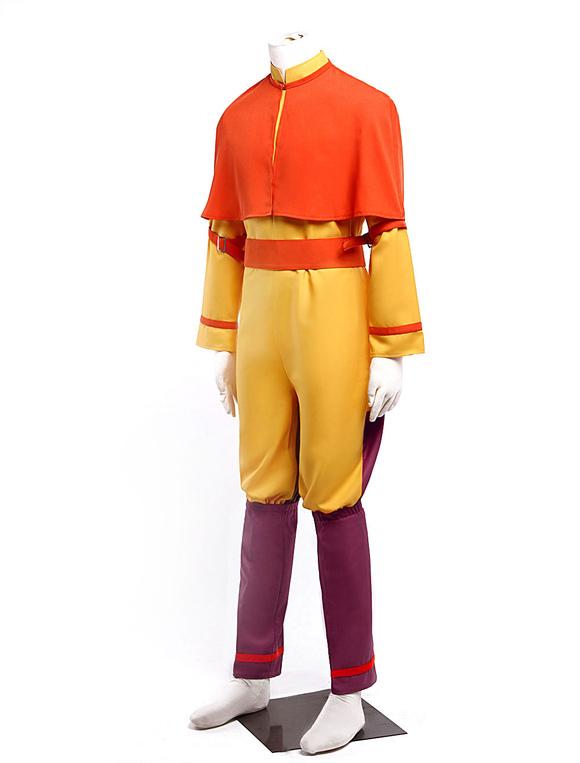 Avatar Aang Cosplay Costume Halloween - Milanoocom-3687