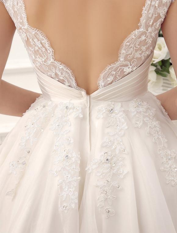 Kurze2018Günstiges Brautkleider Vintage 1950 Brautkleid Backless ...