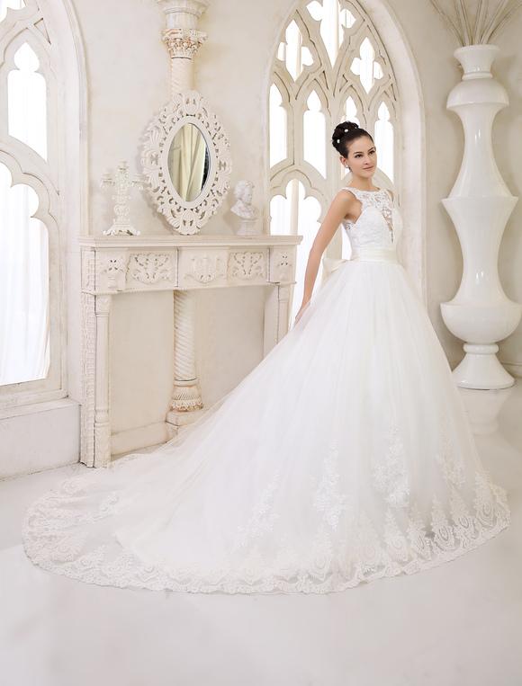 vestidos de novia marfil backless vestido de novia de encaje