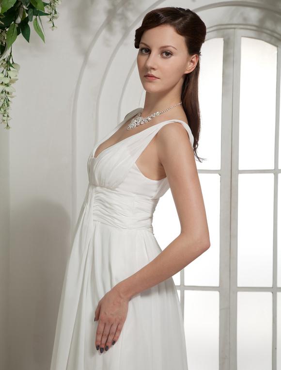 Low Cut Empire Dress