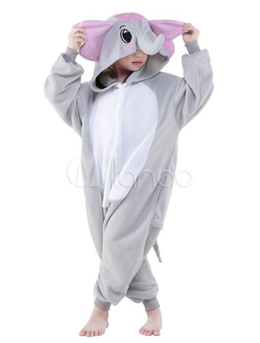 ... Kigurumi Pajamas Elephant Onesie Childrens Flannel Animal Onesie  Sleepwear Costume Halloween-No.5 ... 54e8f0593