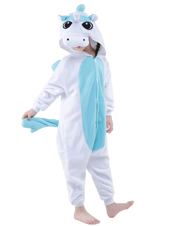 combinaison pyjama licorne jaune kigurumi costume enfant halloween. Black Bedroom Furniture Sets. Home Design Ideas