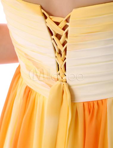 Milanoo / Long Prom Dresses 2017 African Print Prom Dress Strapless Backless Floral Print High Split Chiffon P