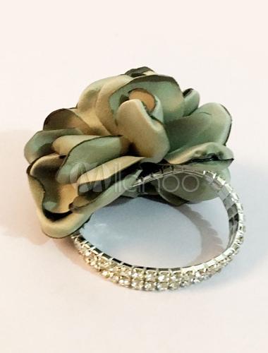 bracelet fleur de mariage perles de demoiselle d honneur corsage de poignet prom vert sauge. Black Bedroom Furniture Sets. Home Design Ideas