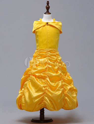 Gelbes kleid beauty and the beast