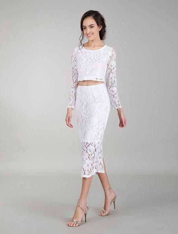 buy online 1c307 db83e Vestiti da cocktail in abiti da sposa bianchi Vestito da sera in vernice  Bodycon