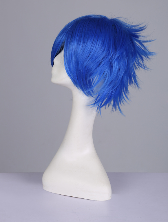 Fairy Tail Cosplay Wig Japanese Anime Character Short Blue Juvia