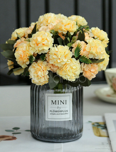 da7781e0f ... Flowers Wedding Table Decorations Glass Vase Blush Pink Dining Room  Table Centerpieces-No.3 ...