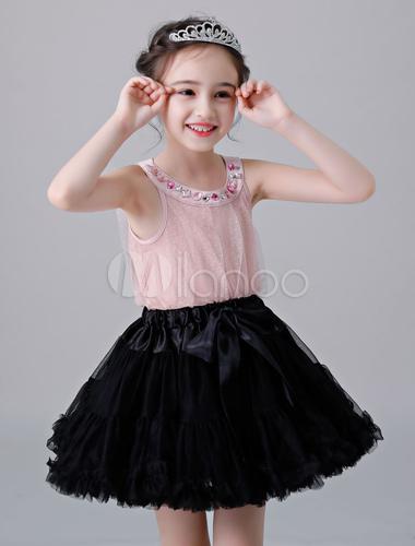 0f2a8d653eb33 ... Flower Girl Petticoat Short Tulle Flare Slip Lolita Underskirt-No.3 ...