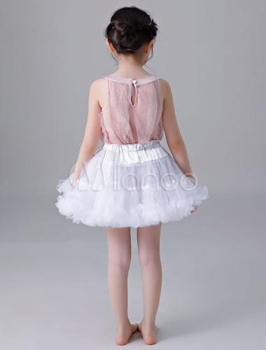 2239fe8f4ea0c ... Flower Girl Petticoat Short Tulle Flare Slip Lolita Underskirt-No.4 ...
