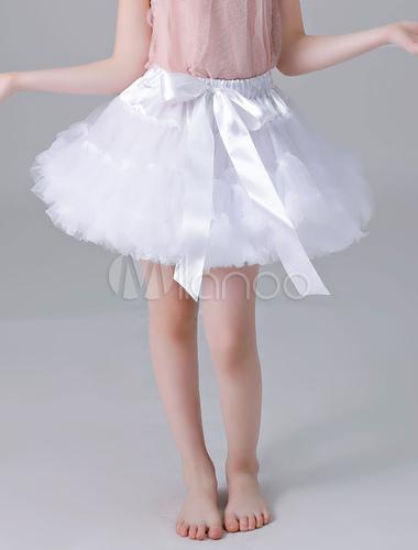 3728f7871754f ... Flower Girl Petticoat Short Tulle Flare Slip Lolita Underskirt-No.2 ...