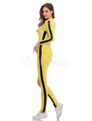 meet 0fb67 40761 Tuta da ragazza di Halloween Costume giallo per le donne