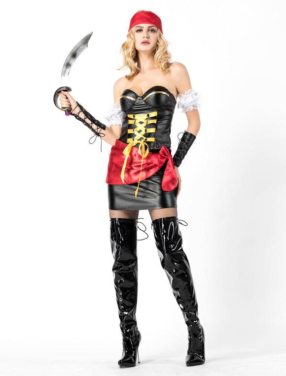 Vestidos de piratas para mujeres