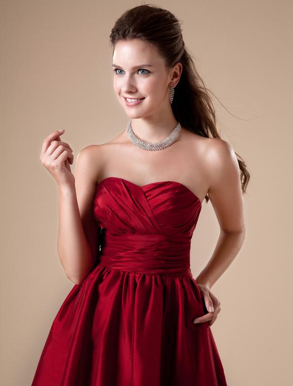 Vestidos Tintos Cortos Para Ninas Las Mejores Modelos De