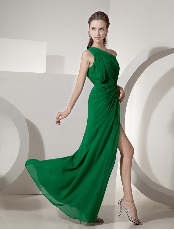 Vestidos verde floresta
