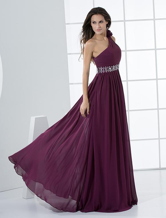 Imagenes de vestidos de noche color morado