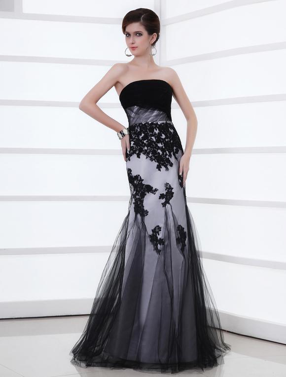 Abiti da sera eleganti nero