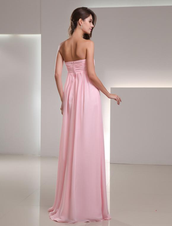 Kleid rosa falten