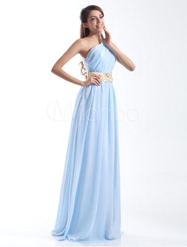 Robe bleu ciel clair