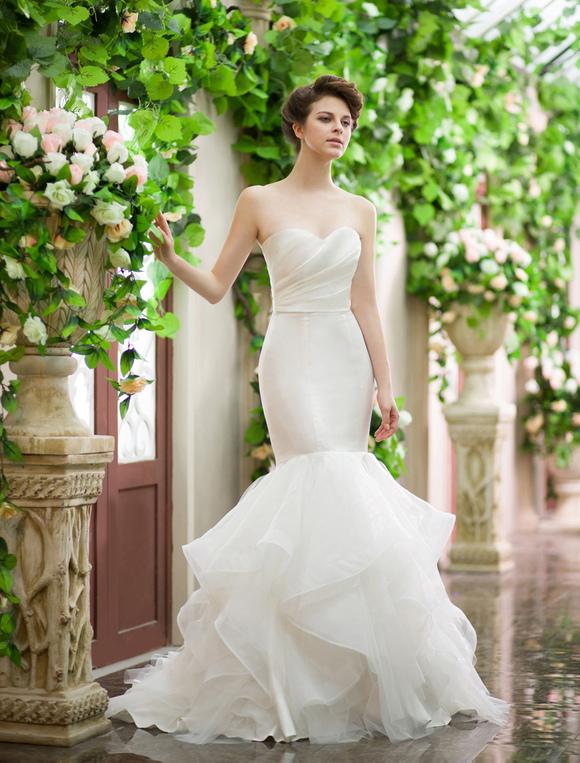 Sweetheart Mermaid Wedding Dress Milanoo Com
