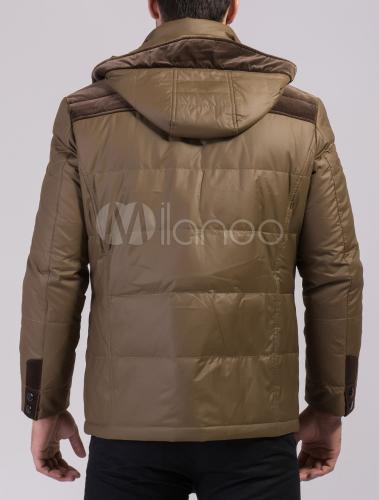 ... Giubbotto bicolore chic moderno in fibra sintetica con tasche -No.5 ... 819d506f3de