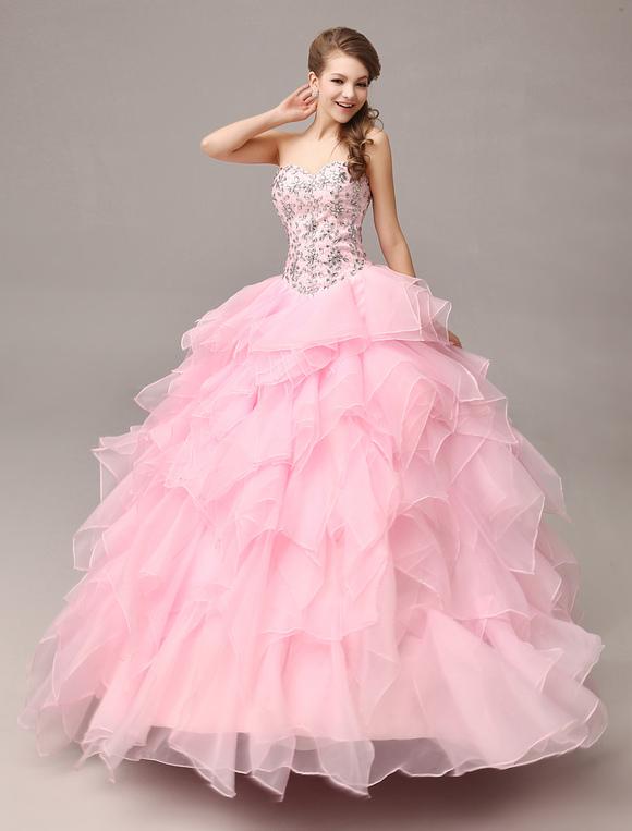 Vestiti rosa per 18 anni