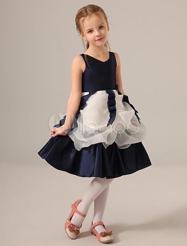 robe de mariage petite fille bleu. Black Bedroom Furniture Sets. Home Design Ideas