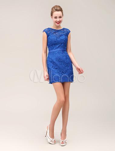Cocktailkleid in k nigsblau kleider f r hochzeitsg ste - Kleider milanoo ...