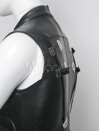 Ninja Gaiden Black Faux Leather Cosplay Costume Milanoo Com