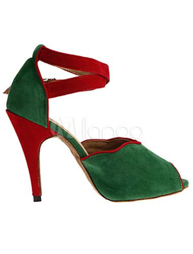 Danza tonos las Peep tacones Toe mujeres dos para sandalias ante FfqxH4Fwn