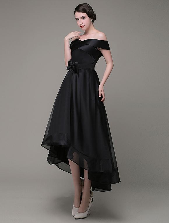 Imagenes de vestidos de noche negro