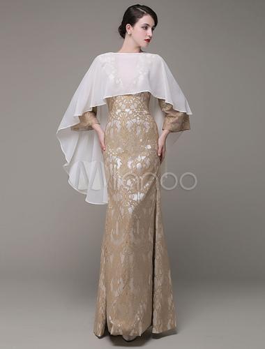 db4644a3baff ... Coprispalle Sposa Asimmetrico bianco scialle da sposa in Chiffon -No.2  ...