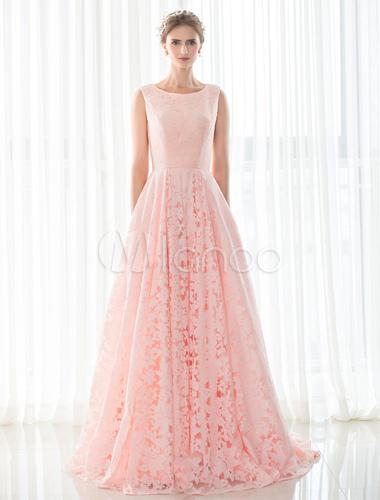 rosa hochzeitskleid lace a linie gericht zug rmellose schn r brautkleid mit einschubtaschen. Black Bedroom Furniture Sets. Home Design Ideas