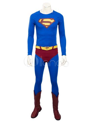 Ritorni Del Superman Superman Clark Kent Cosplay Costume Carnevale