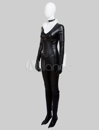 The Amazing Spider Man Black Cat Felicia Hardy Halloween Cosplay