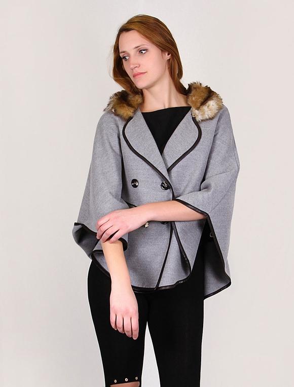 grande Talla cabo Mentel invierno con mujer Poncho manto abrigo 6qPwxdqC c4c1c25c687f