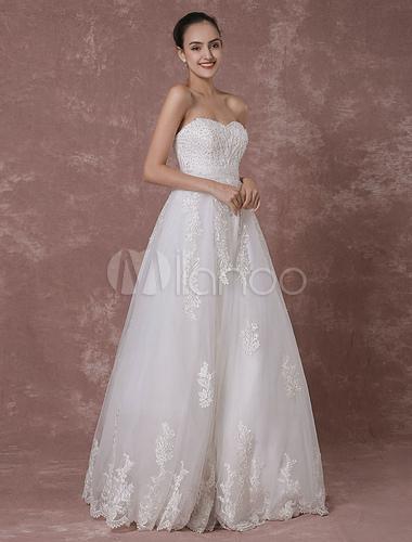 Vestido Novia Vestido De Novia Sin Espalda Vestido Rebordear Lujo Nupcial Vestido De Novia Encaje