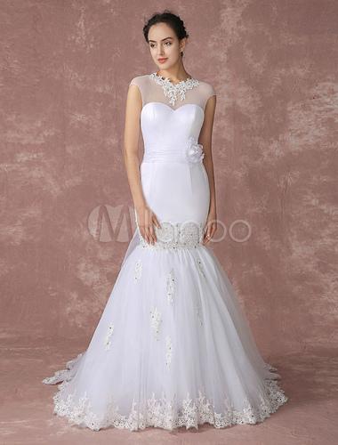 Como hacer vestido de novia corte sirena