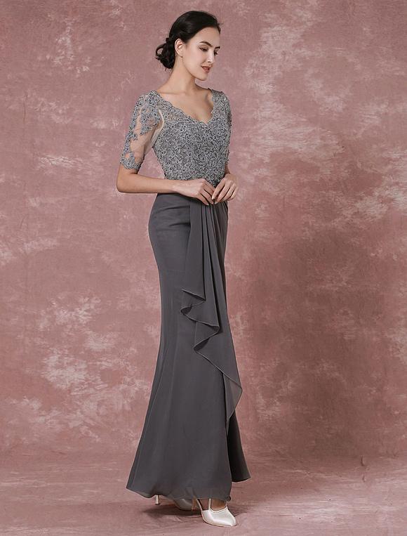 Kleider grau hochzeit
