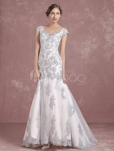 Vestido para casamento de bodas de prata