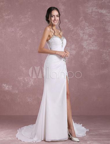 Mermaid Beach Wedding Dress
