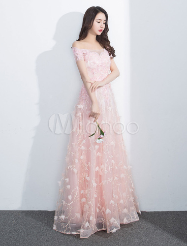 Peach Prom Dresses 2018