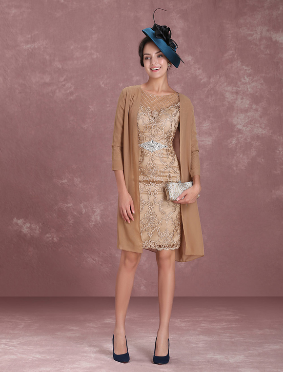 2 piece mother of the bride dresses