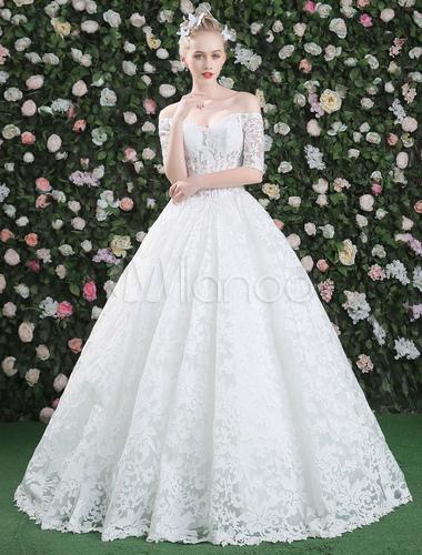 Robe de mari e princesse jardin glise longueur plancher for Robes de jardin