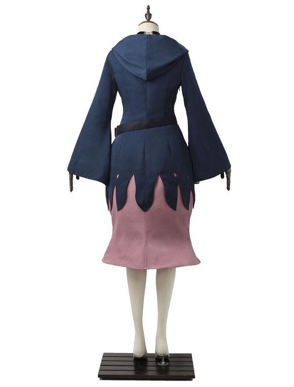 Pequeña bruja Academia Diana Cavendish morado Anime Japonés Lana de Jazz con falda para mujer sets fdruD8tD6