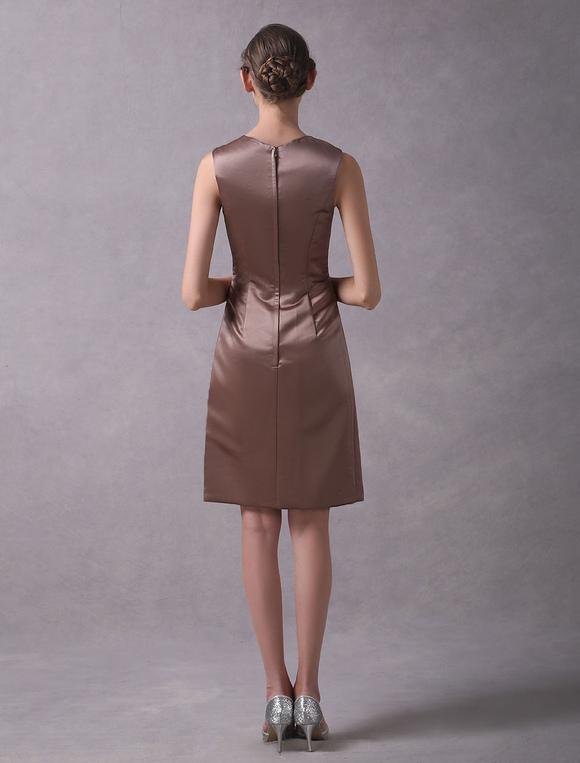 Kleid braun hochzeit