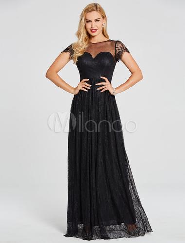 Kleid lang spitze