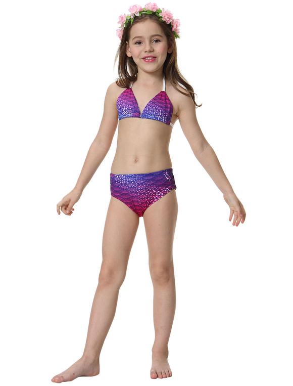 Para Licra Sirena Lycra Spandex Cola De Niños Disfraz Niñas Bañador Fucsia tsQrdCh